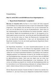 Real I.S. wirbt 2012 rund 625 Millionen Euro Eigenkapital ein ...