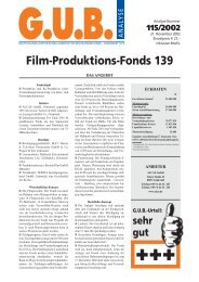Film-Produktions-Fonds 139 - Real IS