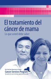 Breast Cancer Treatment - What You Should Know (Spanish)