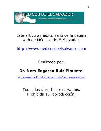 HOSPITAL NACIONAL ROSALES - Medicos de El Salvador