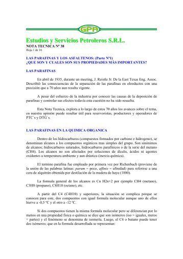 Estudios y Servicios Petroleros S.R.L. - OilProduction.net