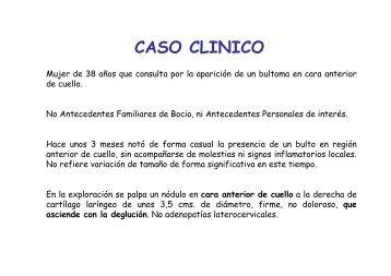 CASO CLINICO - Hospital de Cruces