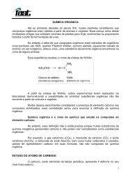 QUÍMICA ORGÂNICA - Fast cursos