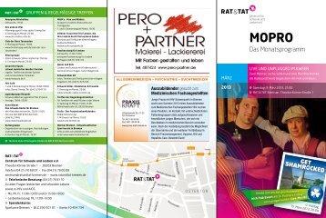 Das Monatsprogramm - Rat und Tat Zentrum für Schwule und ...
