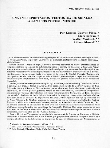 PDF 5 MB - Centro de Geociencias ::.. UNAM