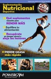 Guia de Suplementacion Nutricional 2012 - Sportlife.es