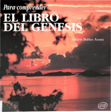 Para comprender EL LIBRO DEL GÉNESIS - 10