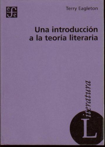 Eagleton – Una introducción a la teoría literaria - Etb