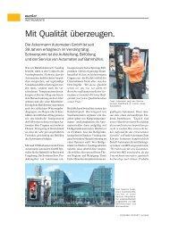 market - Ackermann Automaten Gmbh