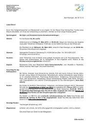 Kurs I - Realschule Bad Kissingen