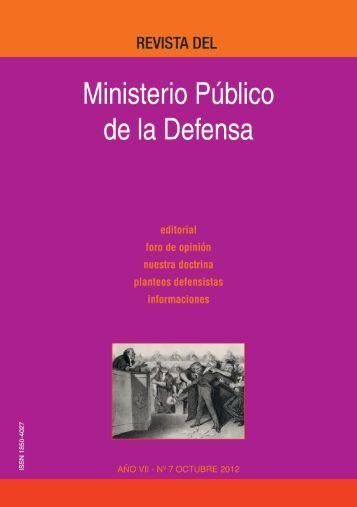 Octubre 2012 - Ministerio Público de la Defensa