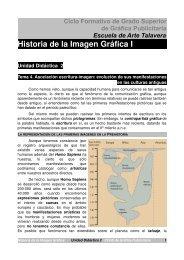 Historia de la Imagen Gráfica I - Escuela de Arte Talavera