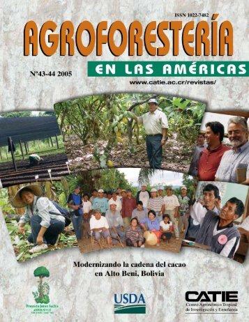 RAFA Bolivia - Intranet CATIE