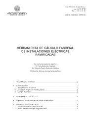 Manual hoja cálculo redes ramificadas - Universidad de Salamanca