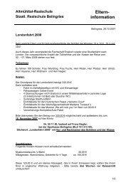 Elterninformation zur Londonfahrt - Realschule-Beilngries.de