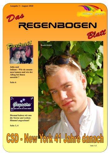 Ausgabe 3 / August 2010 Julia und Juliane ... - Regenbogen HST