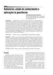 Radiolários: estado do conhecimento e aplicações ... - IGEO- Unicamp