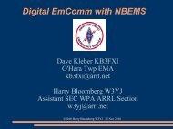 Digital EmComm with NBEMS - Inland Empire VHF Radio Amateurs ...