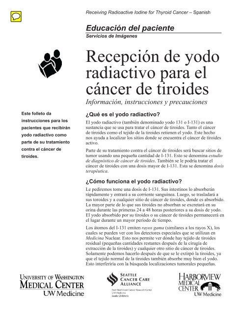 Proteccion radiologica despues de una terapia con yodo 131