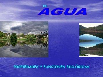 """Agua y sales minerales - ies """"poeta claudio rodríguez"""""""