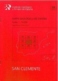 A') lnstíftuto Geológico - Instituto Geológico y Minero de España