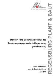 (Hotelkonzept) (pdf; ca 900 kB) - Stadt Regensburg