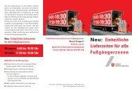 Flyer zum Lieferverkehr in der Alstadt (mit ... - Stadt Regensburg
