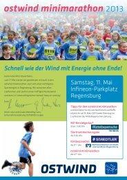 zum runterladen Der Flyer 2013 - Regensburg Marathon