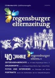 Ausgabe 175 - Regensburger Eltern eV