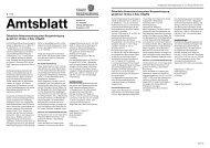 Amtsblatt 13 / 28.03.2011 - Stadt Regensburg
