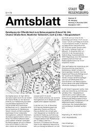 Amtsblatt 44 / 02.11.2010 - Stadt Regensburg