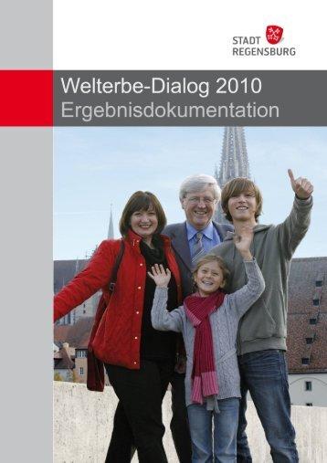 Welterbe-Dialog am 5. und 6. Februar 2010 - Stadt Regensburg