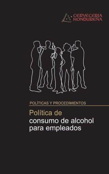 Politica de Alcohol para Empleados - Cervecería Hondureña
