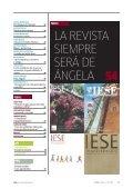 revista especialmente editada para Ángela - IESE Business School - Page 5