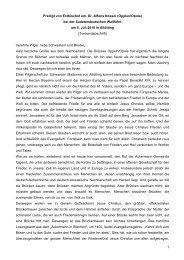 1 Predigt von Erzbischof em. Dr. Alfons Nossol (Opplen/Opole) bei ...