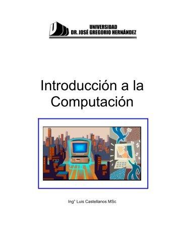 Introduccion a la Computacion - LuisCastellanos