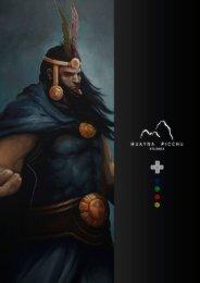 Ver Brochure - Huayna Picchu Studios