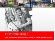 Schulverpflegung basis - Kopernikus Realschule Hennef