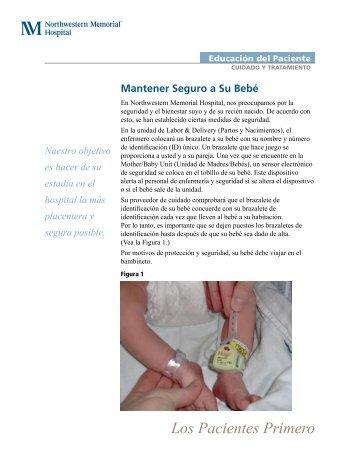 Mantener Seguro a Su Bebé - Northwestern Memorial Hospital