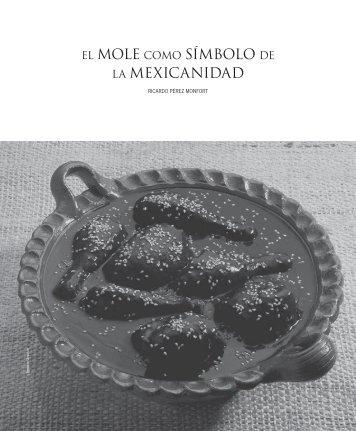 el mole como símbolo de la mexicanidad - Consejo Nacional para la ...