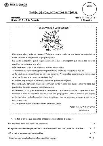 TAREA DE COMUNICACIÓN INTEGRAL