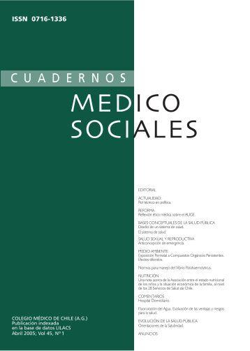 Descargue la revista aquí - Colegio Médico de Chile