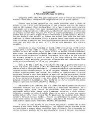 Imprimir Módulo III - Os Amadurecidos - Senado Federal