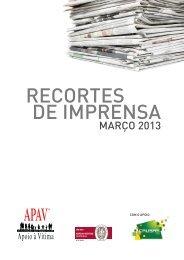 Março 2013 - APAV