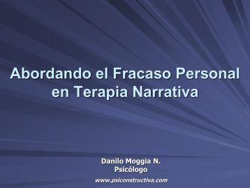 Abordando el fracaso personal en Terapia Narrativa - Aeten.es