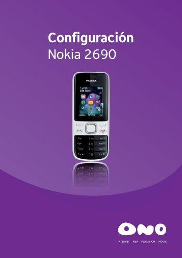 Configuración Nokia 2690 - Ono