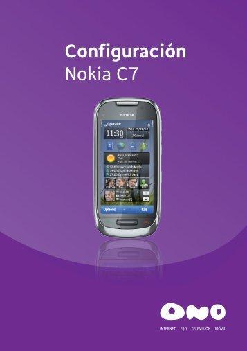 Guía Nokia C7.indd - Ono