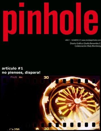 artículo #1 no pienses, dispara! - Pinhole revista