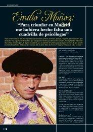 Entrevista con Emilio Muñoz - Las Ventas
