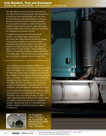 Fuel Senders, Fuel and Emissions Envíos de combustible ...
